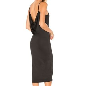 Revolve by the way. Aubrie cowl back midi dress
